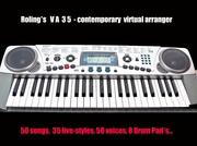 Roling*s VA-35. Бюджетный обучающий синтезатор по доступной цене.